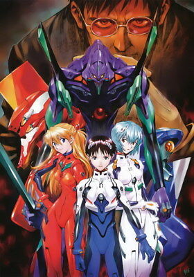 "020 Neon - Genesis Evangelion Ayanami Rei Fighting Anime 14""x20"" Poster"