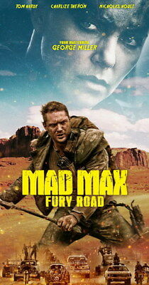 "162 Mad Max 4 Fury Road - Fight Shoot Car USA Movie 14""x26"" Poster"