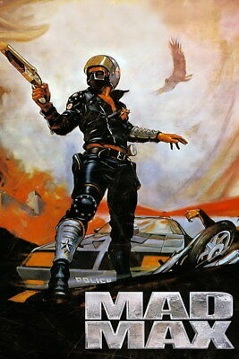 """153 Mad Max 4 Fury Road - Fight Shoot Car USA Movie 14""""x21"""" Poster"""
