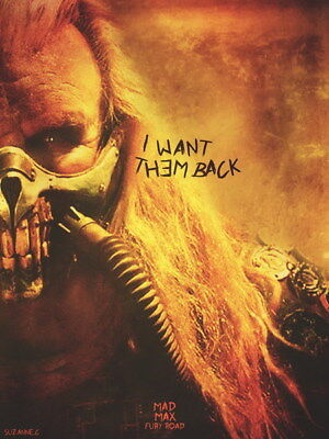 """113 Mad Max 4 Fury Road - Fight Shoot Car USA Movie 14""""x18"""" Poster"""