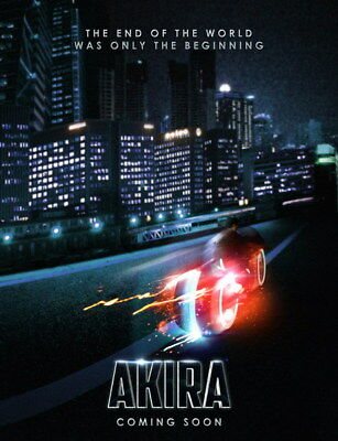"044 Akira - Red Fighting Hot Japan Anime 14""x18"" Poster"