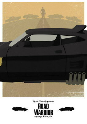 """157 Mad Max 4 Fury Road - Fight Shoot Car USA Movie 14""""x19"""" Poster"""