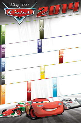 "048 Cars - Pixar Lightning McQueen Cartoon Movie 14""x21"" Poster"