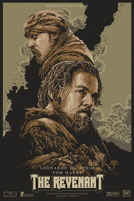 "108 Leonardo DiCaprio - The Revenant Handsome Actor Movie Star 14""x21"" Poster"