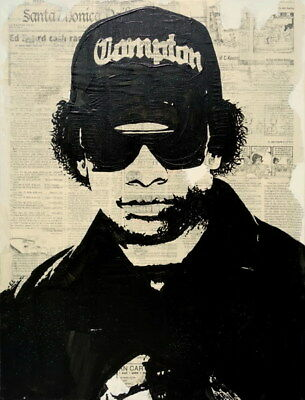 """013 Straight Outta Compton - Ice Cube MC Ren HIPHOP Moive14""""x18"""" Poster"""