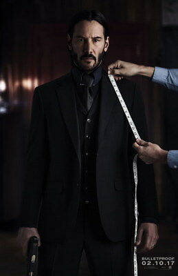 "010 John Wick Chapter 2 - Keanu Reeves 2017 Movie 14""x21"" Poster"