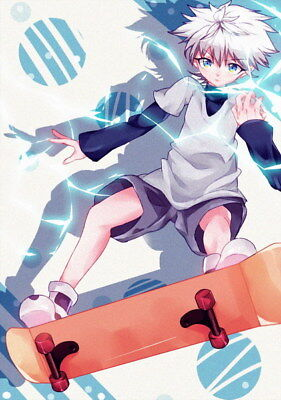 "093 Hunter X Hunter - Neferpitou Gon Killua Fight Anime 14""x19"" Poster"
