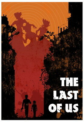 "066 The Last of Us - Zombie Survival Horror Action TV Game 14""x20"" Poster"