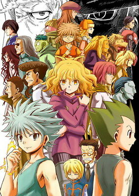 "061 Hunter X Hunter - Neferpitou Gon Killua Fight Anime 14""x19"" Poster"