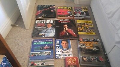Selection of F1 books