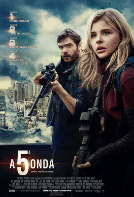 "013 The 5th Wave - Chloe Grace Moretz 2016 Science Fiction Movie 24""x35"" Poster"