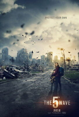 "003 The 5th Wave - Chloe Grace Moretz 2016 Science Fiction Movie 24""x35"" Poster"