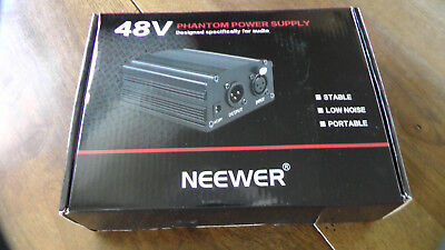 Neewer 1-Channel 48V Phantom