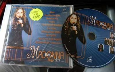 Madonna Video CD Disc Karaoke American Pie + more with on screen lyrics