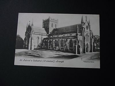 Postcard of St. Patrick's Protestant Cathedral  Armagh. Early 20th cent. AH6677.