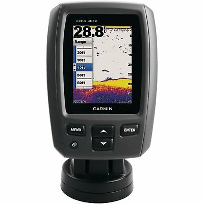 Garmin echo 301c Fish Finder Free Express Post Perfect For Christmas Present