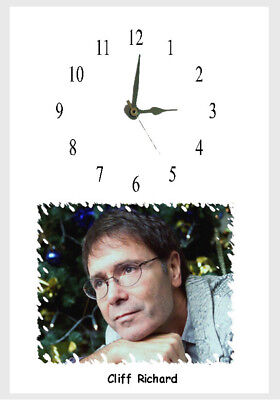 Cliff Richard Wall  clock  Great Gift Personalised Free