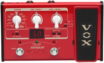 VOX SL2B 2B Amplifier Multi Effect FX Bass Stomp Lab Pedal Free shipping