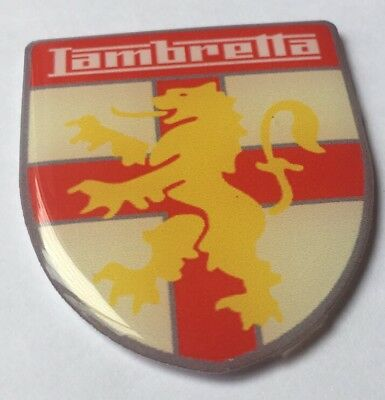 Lambretta Badge Resin 3D Legshield Sidepanel Sx Tv Li Badge L@@k Bn