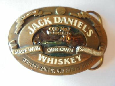 Boucle de ceinture JACK DANIEL'S Whiskey USA old no 7 Tennessee
