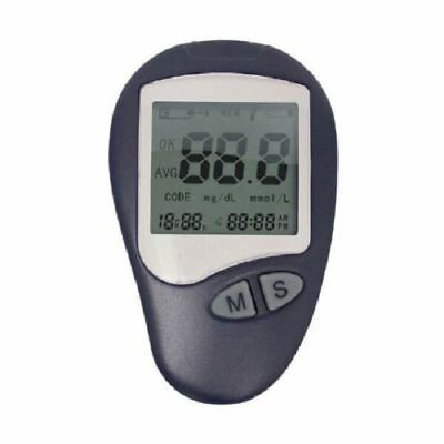 New Active Living Blood Pressure Sugar Meter Diabetic Kit Glucose Monitor Strips