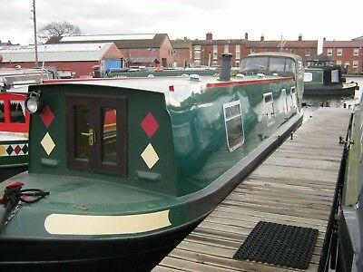 40ft Cruiser style narrowboat 'Chablis'