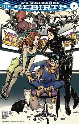 Batgirl And The Birds Of Prey #14 Shirahama Variant Dc Comics Near Mint 9/13/17