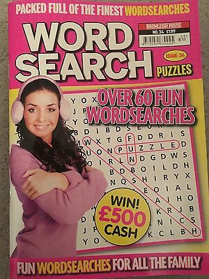 Wordsearch puzzles - puzzle book