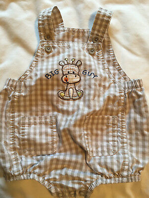 First Moments size 6 month Brown Big Guy Giraffe