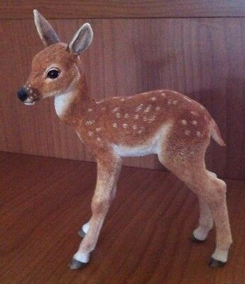 Original Country Artists: Deer / Fawn Hand Painted and Hand Crafted VGC