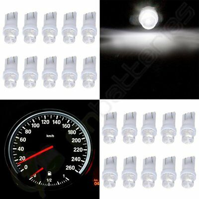 20x T10 White 158 194 2921 W5W LED Instrument Panel Dash Cluster Lights Lamp