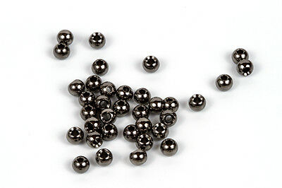 Tungsten Fly Tying Beads - 5/32 Black Nickel, 100 pack!