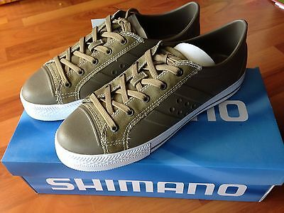 **Brand New** Shimano Evair Casual Boat Shoe EVACS11KH - Khaki US 11