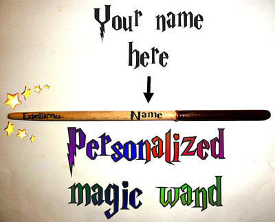 10 inch Magic Wand Harry Potter Personalized Wizard Wand