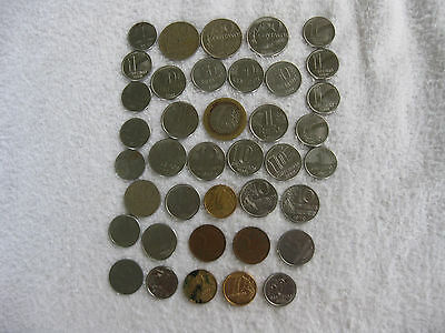 Collection of 39 Coins from Brazil