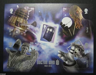 2013 Dr WHO MINIATURE SHEET  MS3451