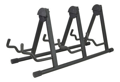 Cobra Triple Guitar Stand - For Electric & Acoustic Guitars
