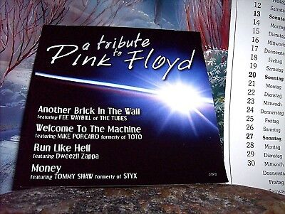 A Tribute To Pink Floyd  ++  Cd / Sehr Gut  ++
