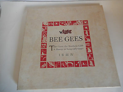 Bee Gees Tales From The Brothers Gibb Poly Gram 1990 Usa