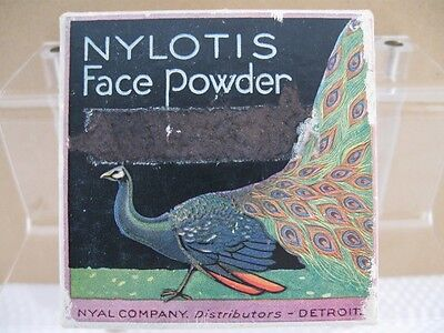 "Vintage NYAL CO. ""Nylotis"" Face Powder Box reg.1919 Unopened"