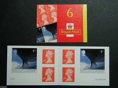 PM5 Airliners (Concord) Self Adhesive Booklet