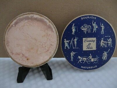 Vintage BOURJOIS Evening In Paris Small Face Powder Unused