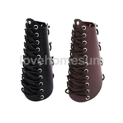 Lace-up Archery Arm Guard Arm Bracers for Longbow Recurve Bow Hunting Shooting