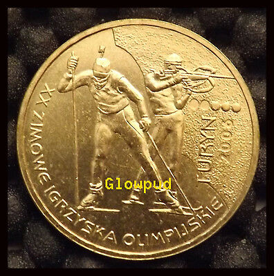 Coin Poland Winter Olympic Games Torino Italy 2006 * Unc