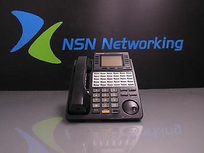Panasonic Digital Super Hybrid KX-T7456-B Black 6-Line Display Speakerphone