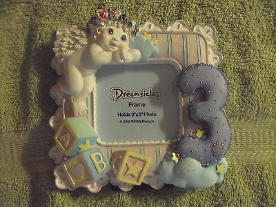 "Dreamsicles Frame ~ ""When I Was Three ~ 20275 ~  New Without Tag"
