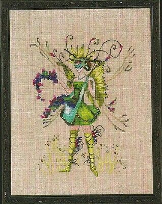 The Berry Collector Pixie - Fairy  - Cross Stitch Chart - FREE POST