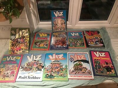 viz annuals, 9 + 1 Water Damaged Free and One Paperback