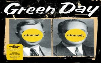 GREEN DAY ~ NIMROD ~ 20th ANNIVERSARY 2 x YELLOW ETCHED VINYL LP ~ *NEW*