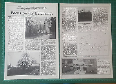 (534) Belchamp St Paul  Walter Otten Essex  Belchamps - 1987 Article